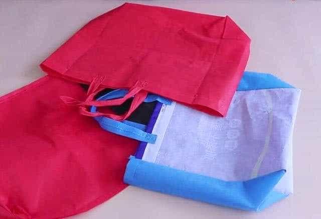 手提袋千万别扔掉,简单缝一缝挂在家里超实用,所有人见了都夸好