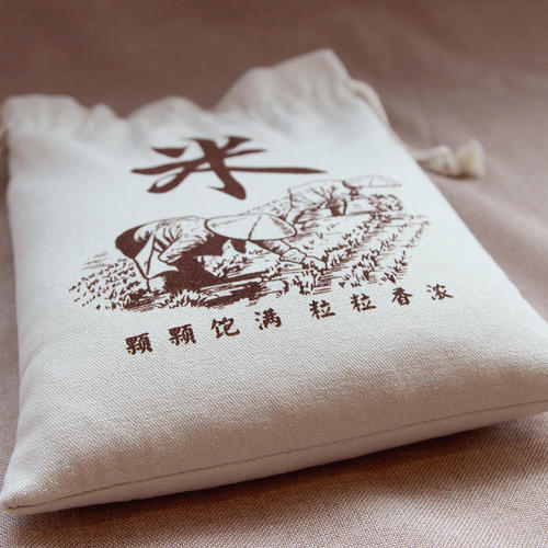 大米帆布袋 帆布大米袋厂家订做